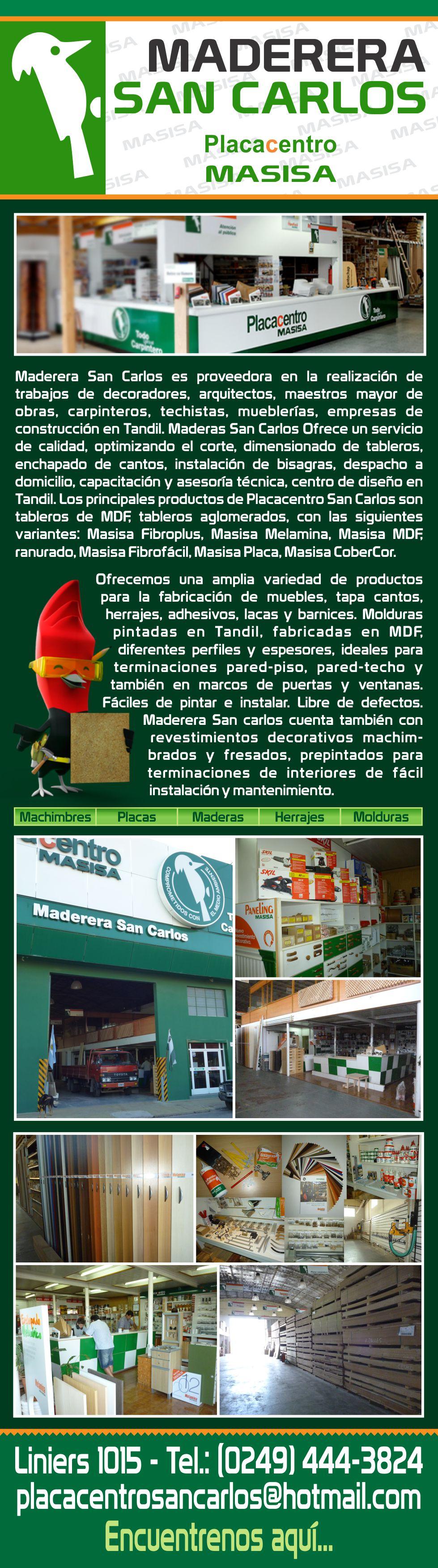 Maderera San Carlos En Tandil # Muebles Faciles Liniers