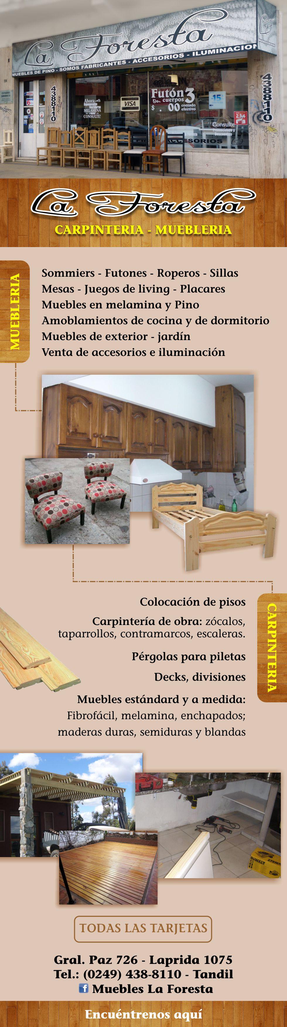 Muebles La Foresta En Tandil # Muebles Laprida